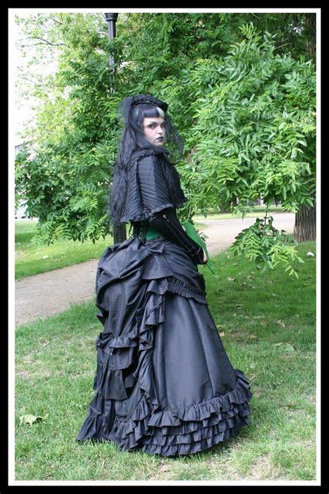 victorian gothic victorian gothic wedding dress bustle gown bespoke