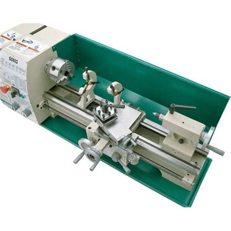 bench top metal lathe grizzly g0602 bench top metal lathe 10 x 22 inch import