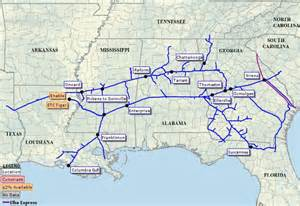 florida gas pipeline map southern company kinder enter southern gas