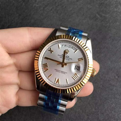 Rolex Day Date Best Edition Black Stick Clone 1 1 1 rolex susan reviews on replica watches