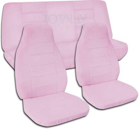 pink car seat cover solid color car seat covers set semi custom black