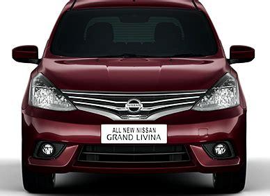 Fog L Mobil Nissan Grand Livina perbedaan mobil nissan grand livina sv xv hws dan autech