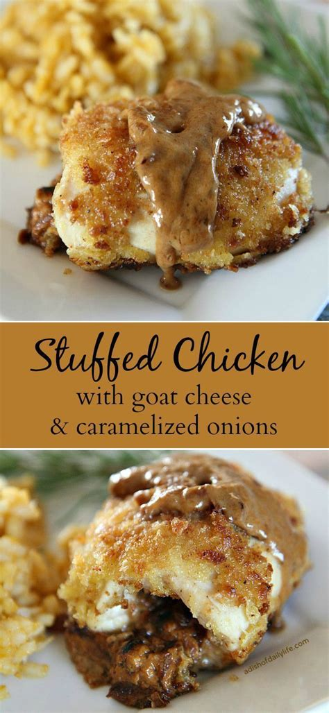 elegant dinner recipes 10 ideas about chicken goat cheese on pinterest simple