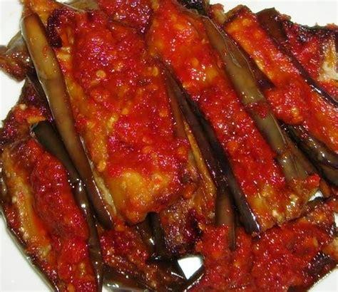 resep masakan indonesia resep terong balado