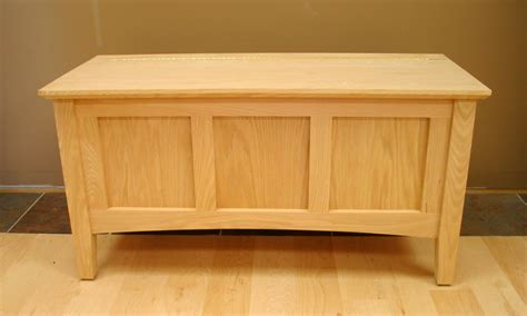 storage bench oak shaker deep storage bench 24 series
