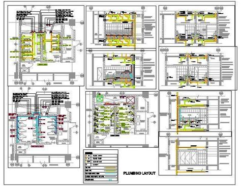 layout of water supply in buildings toilet plumbing design sanitary drainage water supply