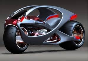 Hyundai Motorcycles Side Attractive View Of Hyundai Concept Motorcycle