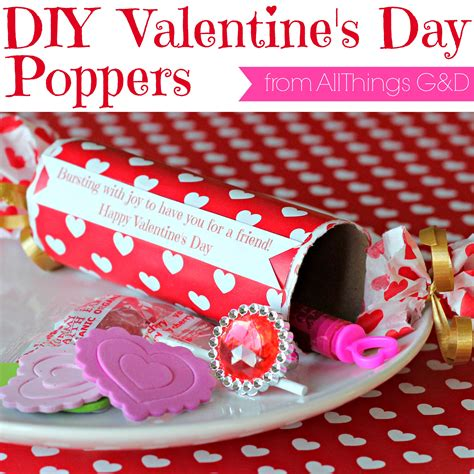 things for valentines easy diy poppers made from toilet paper rolls