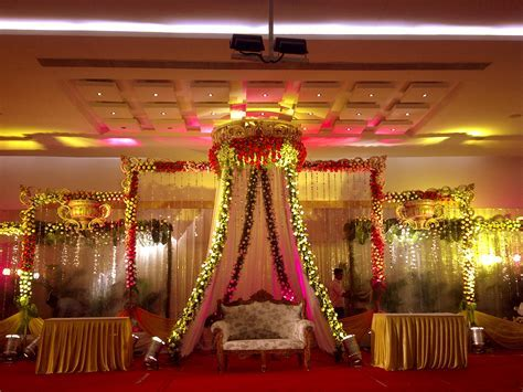 Sai Gardens hall 1   Marriage Halls In Hyderabad, Banquet