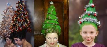 christmas tree hair rainbow hair colour