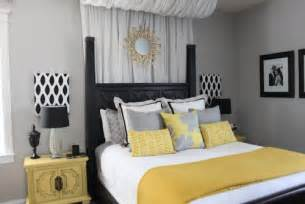 Yellow And Gray Bedroom Ideas yellow and grey bed