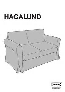 Hagalund Sofa Bed Ikea User Manual Ikea Hagalund Sofa Bed Cover 22 Reviews For