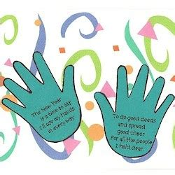 new year craft ideas for preschool new years handprint poem craft pinned by pediastaff