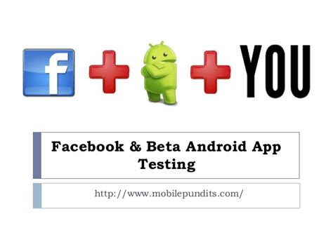 android beta testing offers android app beta testing for their mobile app