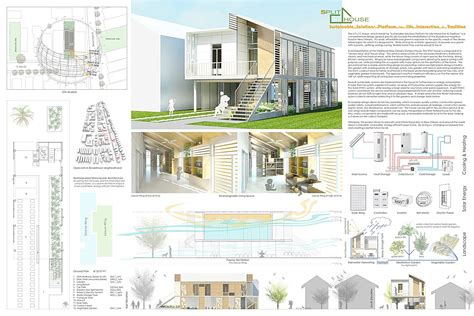 home design competition shows s s p l i t house eddie seymour archinect