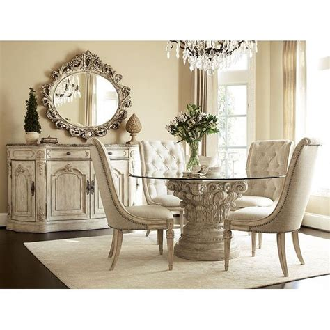jessica mcclintock dining room set jessica mcclintock the boutique round dining room set