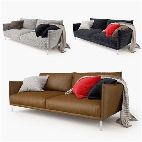 gentry sofa moroso moroso gentry 2 seater 3d max