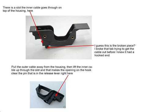 layout that doesn t work html need help 993 front hood release pull handle doesn t work