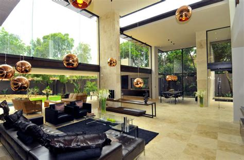 Living Room Jozi Johannesburg Villa Di Lusso A Johannesburg La Trasformazione Verso Il