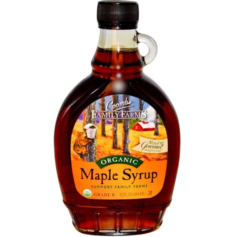 Maple Syrup by Coombs Family Farms Organic Maple Syrup 12 Fl Oz 354 Ml