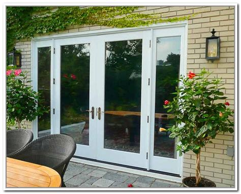 Wide Patio Doors Gorgeous 8 Ft Patio Doors 8 Ft Wide Patio Doors Icamblog Outdoorlivingdecor