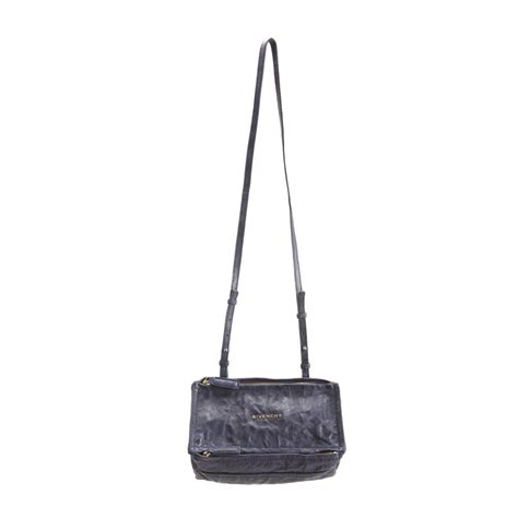 Givenci Mini givenchy mini pepe pandora messenger in gray blue lyst