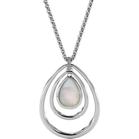 Spãģ Cialiste De L Oreille White Gold Pendant Bijoux Pendentif