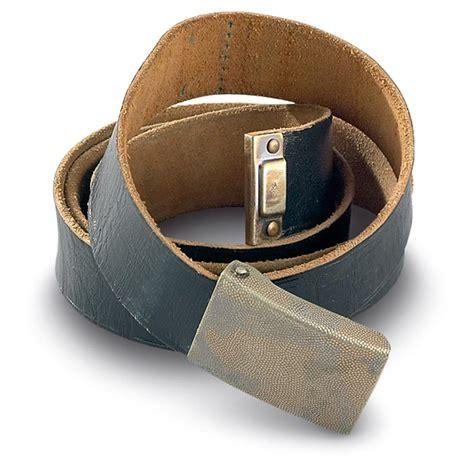 5 used german leather belts 144062 belts suspenders