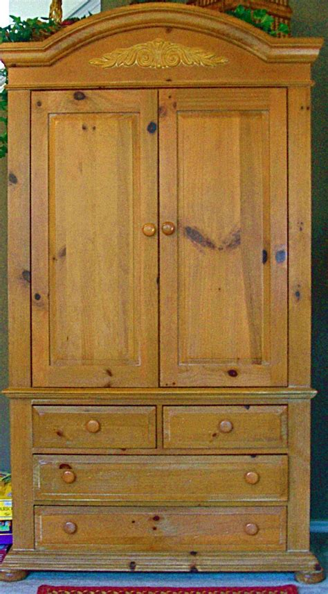 broyhill pine armoire broyhill fontana tv armoire in furnitureandmore s garage