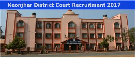 West District Court Search Keonjhar District Court Recruitment 2017 Apply For 14 Junior Clerk Typist Posts At