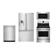 frigidaire professional kitchen appliance package frigidaire professional series stainless steel gas kitchen