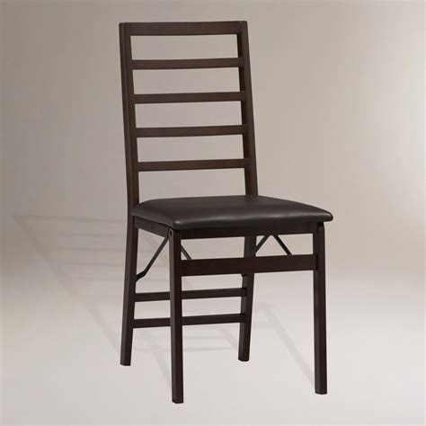 90 ladder back folding dining chairs set of 2 877 967 5362