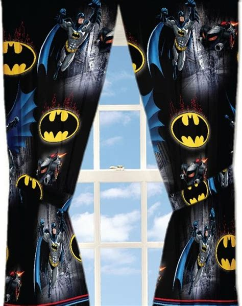 Dc Comics Batman Curtains Guardian Speed Window Panels