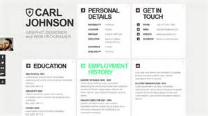 creative web html resume template web html resume