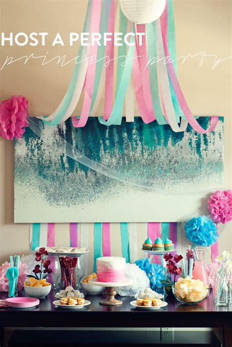 Home Spa Decorating Ideas host a perfect princess slumber party a simple pantry