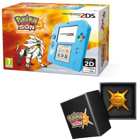 nintendo 2ds special edition pok 233 mon sun pin nintendo