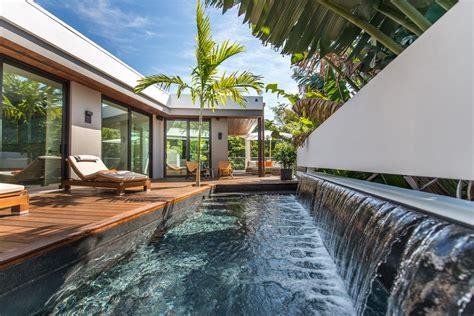 tropical modern zen treehouse  coconut grove