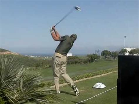 retief goosen golf swing retief goosen golf swing reverse view world match play