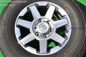 4runner Trail Stock Tires 17 Quot Toyota 4runner Trail Edition Oem Factory Wheel Fj
