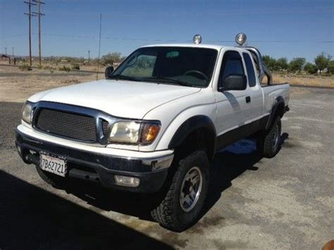Toyota Tacoma Cab Bed Sell Used 2003 Toyota Tacoma Ext Cab Sr5 4x4 5 Speed