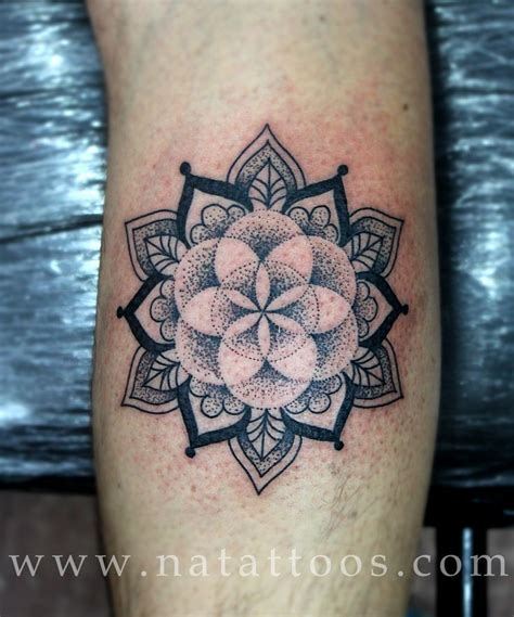 seed of life tattoo flower of pattern keres 233 s tat