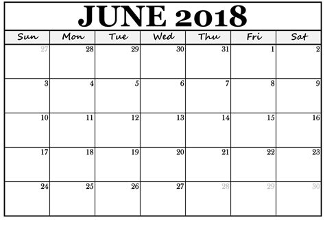 printable calendar 2018 doc june 2018 calendar marathi editable doc template download