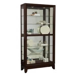 Curio Cabinet With Sliding Glass Door Pulaski Furniture D022009 Two Way Sliding Door Curio Atg