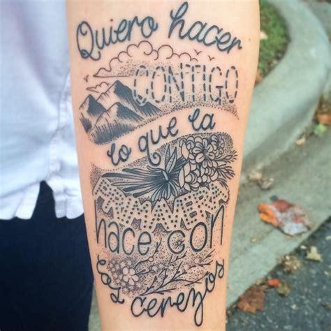 spanish tattoo quotes quotesgram