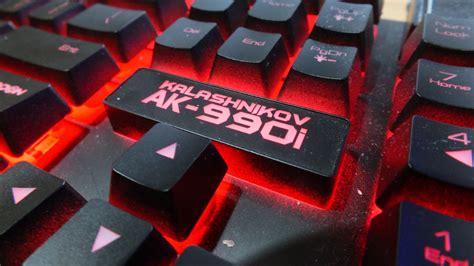 Keyboard Power Logic Armageddon Ak990 I review armageddon kalashnikov ak 990i keyboard rubberdome rasa mechanical