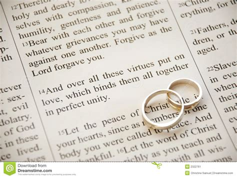 Wedding Bible Verses Colossians by Scripture And Rings Stock Image Image Of Bridal