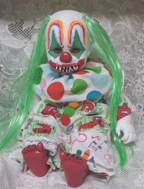 haunted doll janet ebay baby doll killer clown haunted house