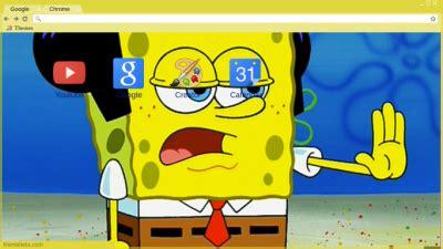 theme google chrome spongebob spongebob chrome themes themebeta