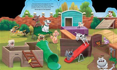 puppy pals mission a lift the flap book out now