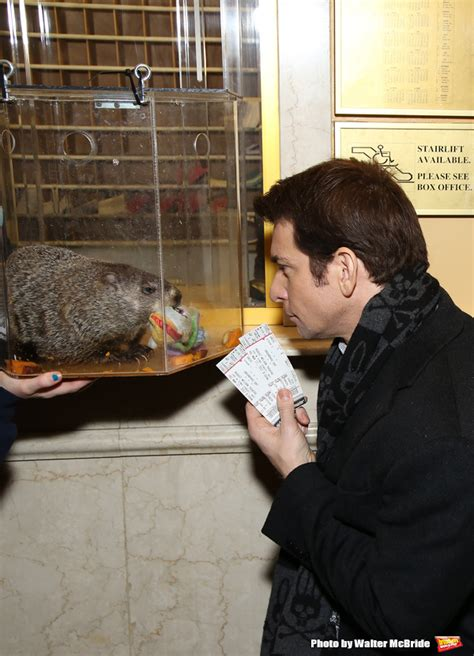 groundhog day box office photo coverage staten island chuck helps andy karl